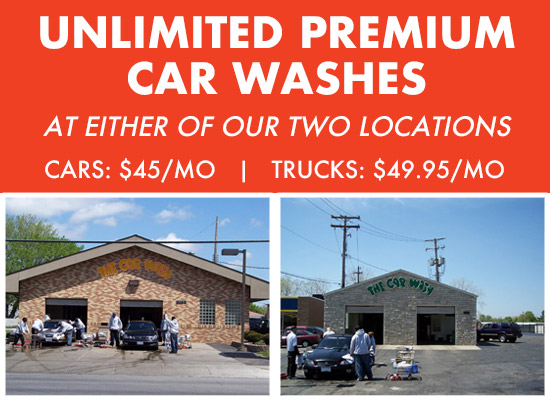 Premium Monthly Car Washes